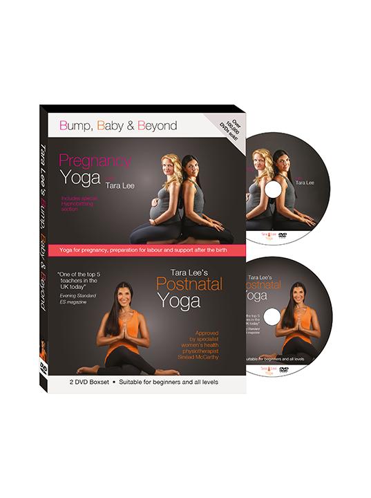 Bump, Baby and Beyond: Pregnancy Yoga and Postnatal Yoga with Tara Lee (2-disc boxset)
