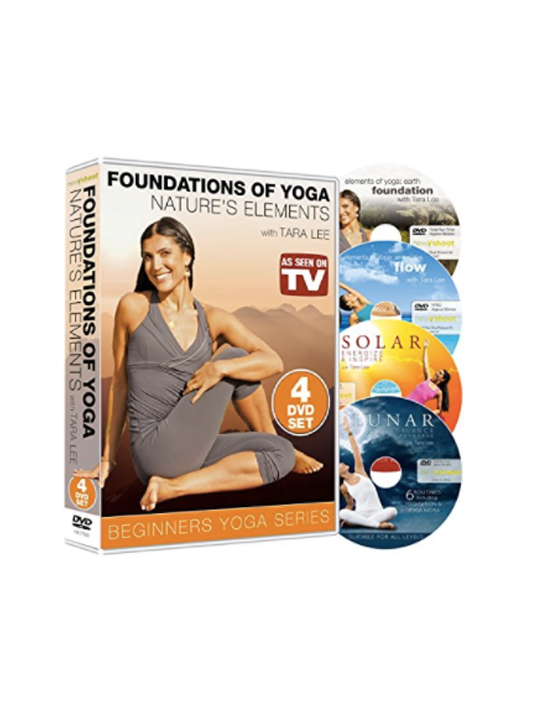 FOUNDATIONS OF YOGA: NATURE'S ELEMENTS (4-DISC BOXSET)